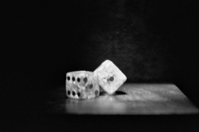 broken dice