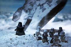 Changing history (Shobrick) Tags: snow starwars force minifigs custom darthvader hoth milleniumfalcon uas shobrick lucastoys legocustomlego