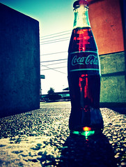 Americana in a glass bottle (Coca-Cola) () Tags: poverty street winter red urban white snow cold color classic beauty sunshine weather childhood cane youth america real concrete town washington artwork view cola symbol juice thing memories poor beverage dream royal happiness coke korea retro sugar corporation clear mexican crisp costco americana tacoma cocacola tradition viewp