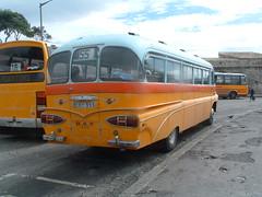 EBY 555 Rear (markyboy2105112) Tags: mercury rear malta 1957 2010 valletta aec brincat