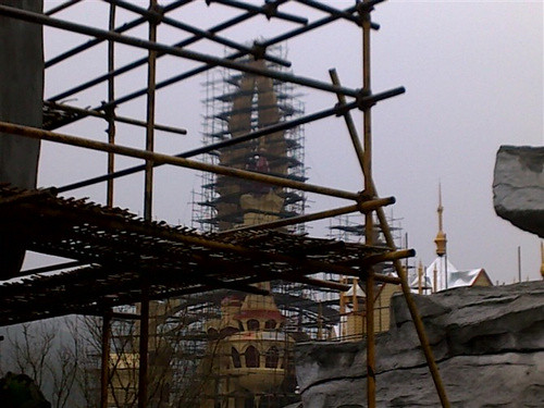 World Joyland Contruction Photos