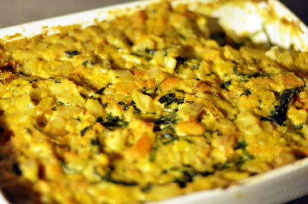 SDA - sweet potato gratin
