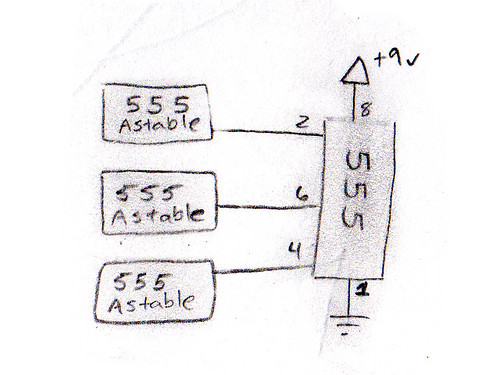 555 contest entry block diagram