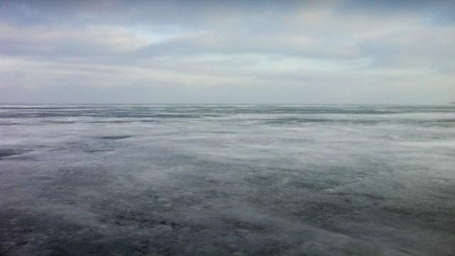 Ice and horizon