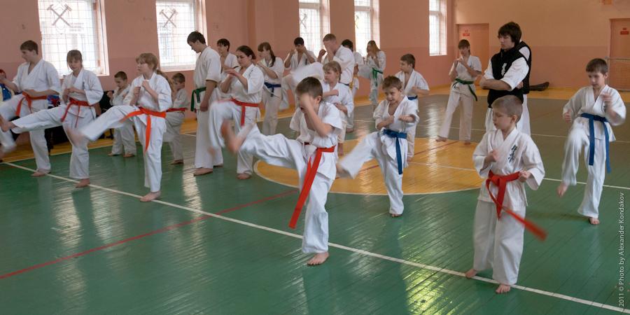 Kyokushin Karate 2011 © Photo by Alexander Kondakov