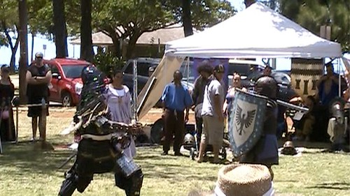 Swordplay at Scottish Fest 2010