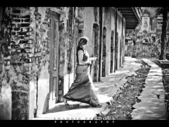 Labyrinth (Shabbir Ferdous) Tags: shadow people bw woman white black girl lady photographer shot palace dhaka saree bangladesh bangladeshi ef50mmf14usm kuhu shabbirferdous canoneos1dmarkiv wwwshabbirferdouscom shabbirferdouscom