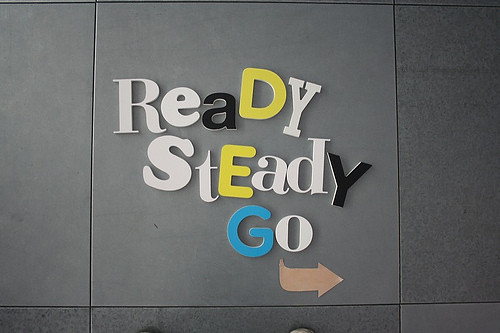 Ready Set Go Typography by Miura Studio - typography, type, font, graphic, design