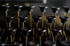 Still LIfe_034_20110123 (T. Scott Carlisle) Tags: old typewriter vintage remingtonrand tscottcarlisle tscottcarlislecom
