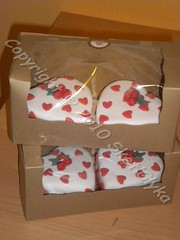 Valentine favor boxes (Niki SG) Tags: cookies cake cupcakes baptism bithday     sketiglykagr