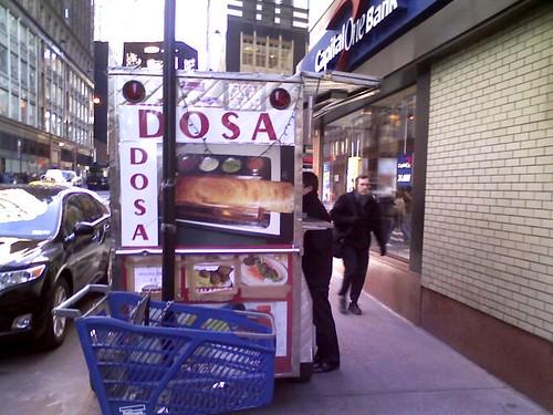 dosa dosa cart - food cart midtown new york