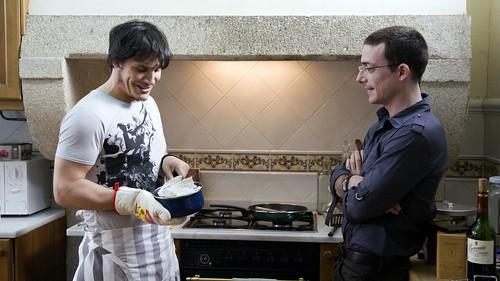 18 comidas Sergio Peris Mencheta y Víctor Clavijo