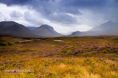 Skye_moody (PeterChad) Tags: cloud storm skye nature beauty scotland solitude alone moody cloudy heather scenic hills moor portree hebrides welcomeuk