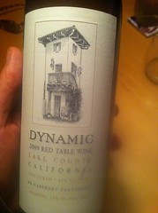 2009 Dynamic Lake County Red Table Wine
