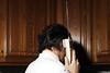 (Gebhart de Koekkoek) Tags: portrait italy mobile vintage back call phone head talk retro hi