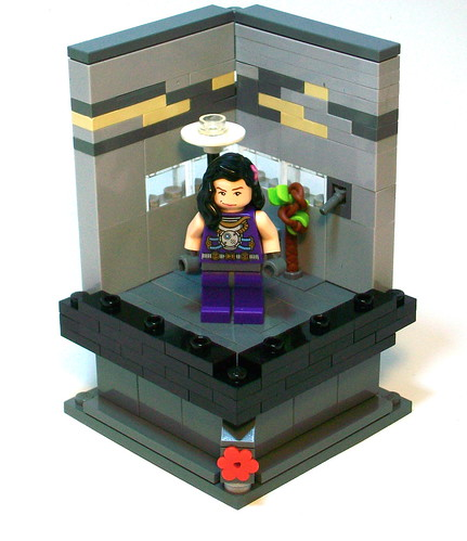 Custom minifig Femalica