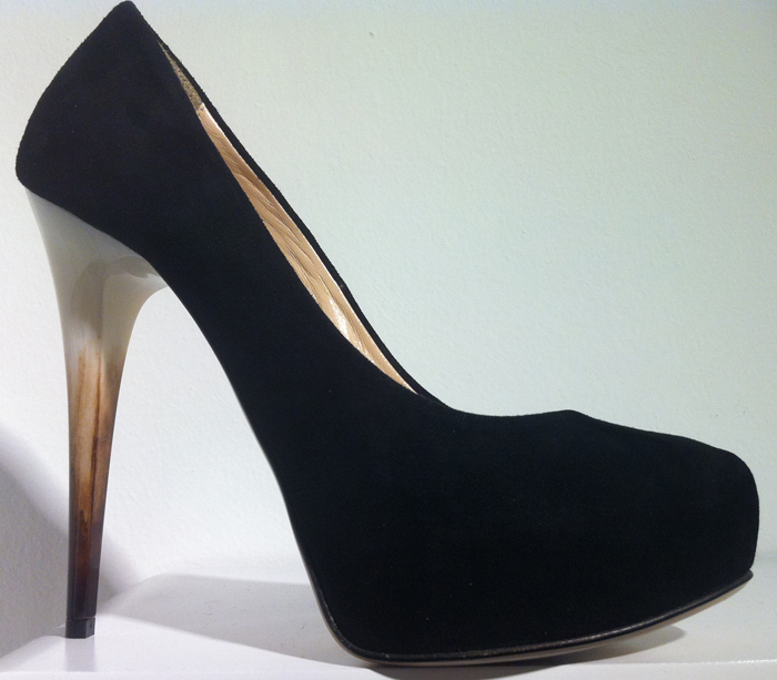 decolte suede nera copia