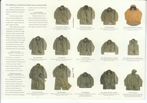 Barbour Supplement 1990s 4