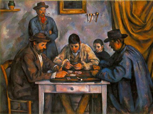 Paul Cezanne Card Players