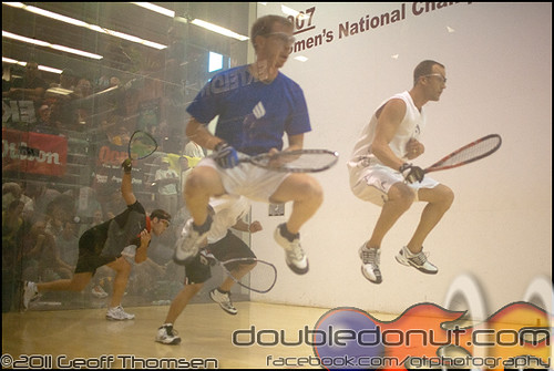 Racquetball Photo: Photos   2011 USA Racquetball National Doubles Championships