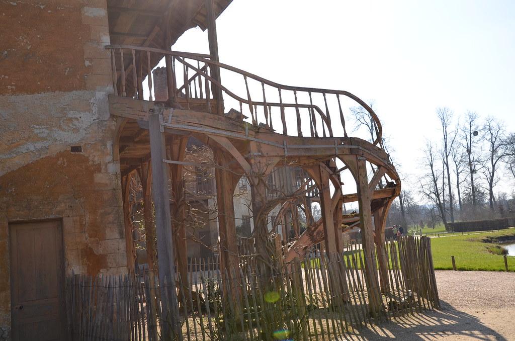 Escalier de la Maison de la Reine