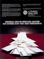 Luther & Maelzer advert [circa 1988] (gwennie2006) Tags: vintage advertising design dc high technology graphic tech scan hightech 1980 4color windowshade fullpage dcmemorialfoundation luthermaelzer 12pageisland pictures1b