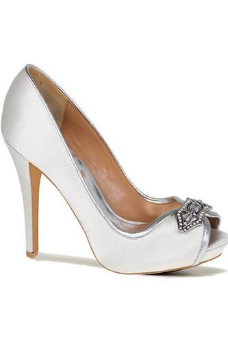 wedding shoes ivory
