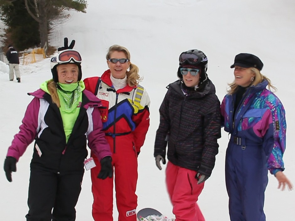 March 10, 2011 - $8 Tickets attract fine Eighties Ladies to Nashoba Valley Ski Area