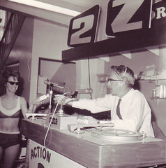 Sid Hall - 2ZC  In store Promo 1965 (Golden Days Of New Zealand Broadcasting) Tags: city history radio bay hall sid nz napier nzbc 2zc