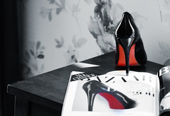 (BintShama`) Tags: fashion magazine pumps bazaar christianlouboutin bintshama