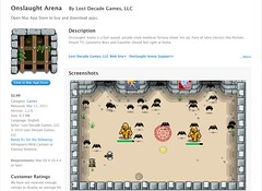 Onslaught! Arena in the Mac App Store