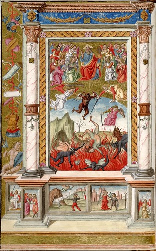016-Oficios de la semana-Andrea Matteo Acquaviva- Sur de Italia 1519- HM 1046 Huntington Library