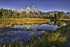 Good Morning Tetons (Photography by Steven Frudak) Tags: places schwabachersbeaverdam wyoming910