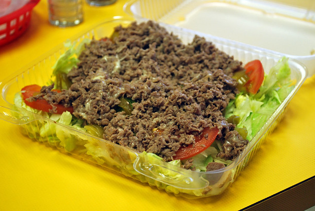 Philly Cheesesteak Salad