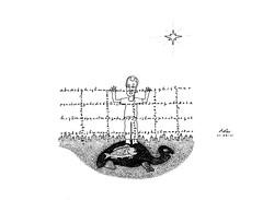 11-mar-11 C (olhar.submarino) Tags: cidade ink de drawings peixe tartaruga jornada desenho canetas arame farpado smbolo nanquim inconsciente individuao linguagem