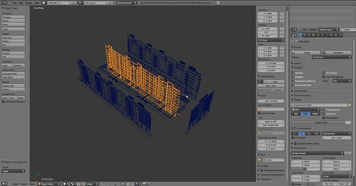 layout dxf import to blender