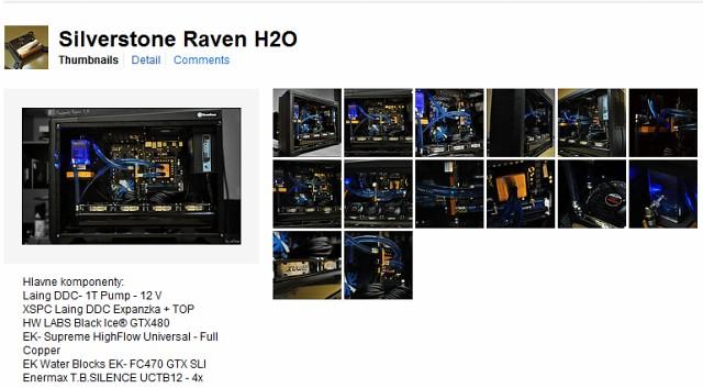 I/P: 4x120 rad+fany, SS Raven 2, Gtx470+blok, Gtx480, 2x2ram