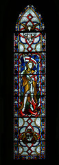 St George Avon Dassett John Hardman stained glass