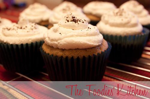 Irish Coffee Cupcakes