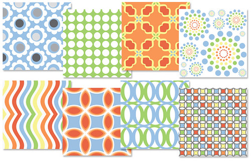 Jardin collection - Spoonflower Designs