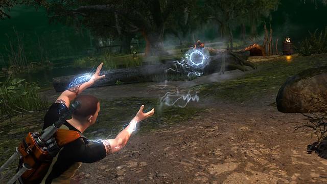 inFAMOUS 2 Sniper Blast