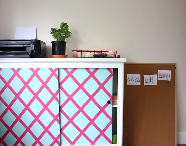 in guest room, muntedkowhai storage