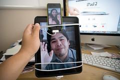 Day 74: iPad2 (arkworld) Tags: selfportrait 365 ipad 365days nikond3 tamron1735mmf2840 ipad2