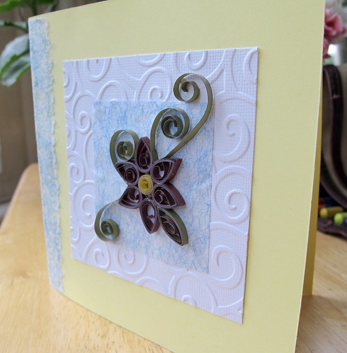 73/365 - Quilled birthday card
