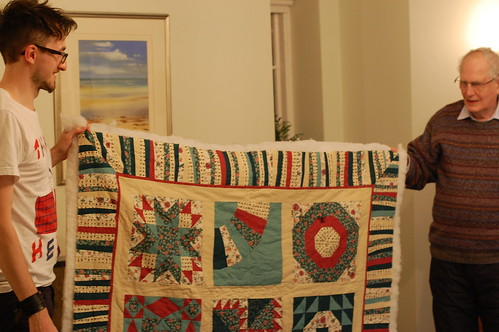 Enid's amazing quilt