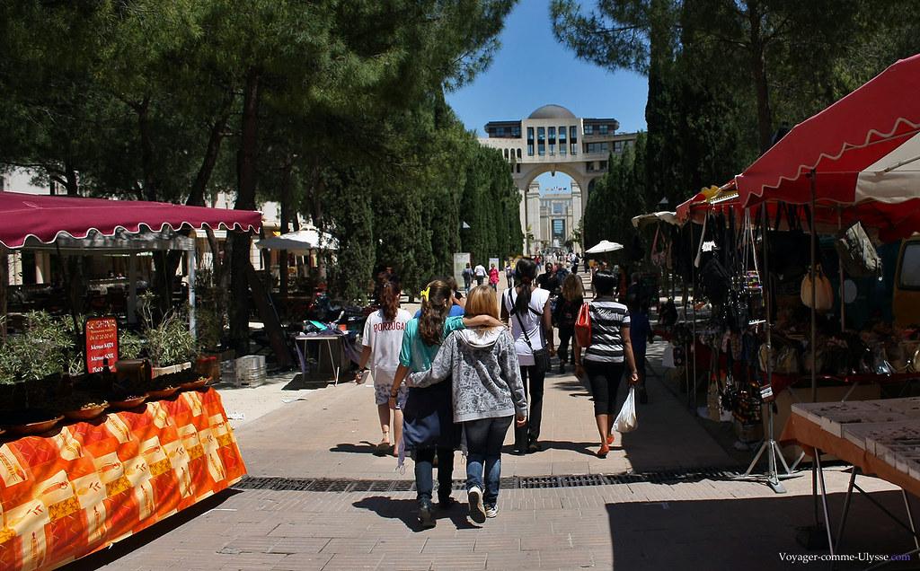 Un marché de Montpellier