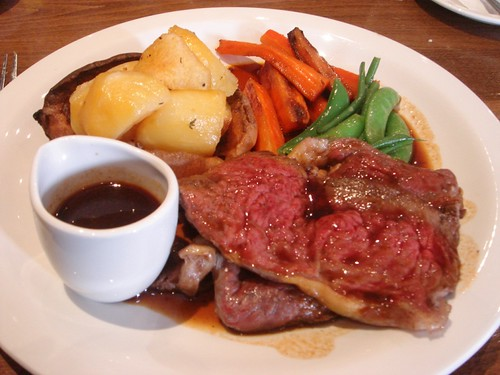 The Cadogan Arms - Roast beef