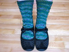 Slytherin Monkey Socks