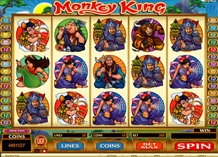 Monkey King slot game online review