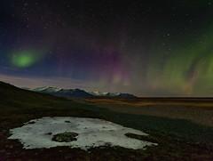 A la orilla del  Glaciar Jokulsarlon (Islandia) (martin zalba) Tags: night stars star noche iceland islandia paisaje aurora estrellas estrella borealis boreal landscap